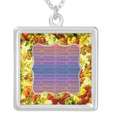 Springtime Wedding Silver Necklace