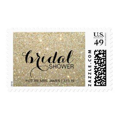 Stamp - Gold Glit