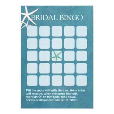 Starfish Beach Wedding  Bingo