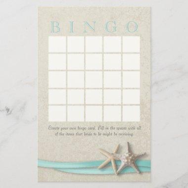 Starfish  Bingo