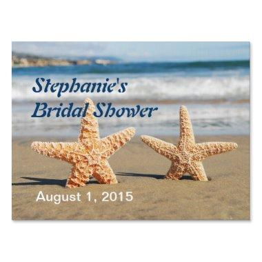 Starfish Couple  Yard Sign