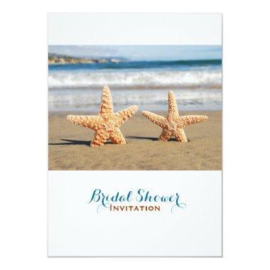 Starfish Couple On The Beach