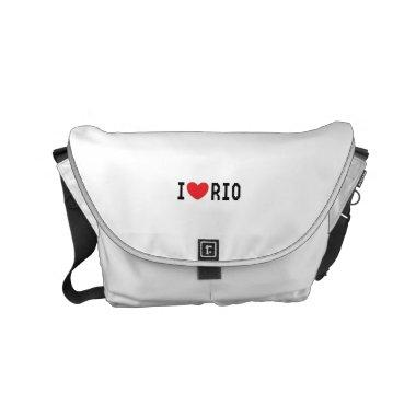 Stock market I Love Rio Small Messenger Bag