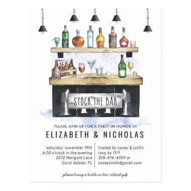 Stock the Bar | Couples Wedding Shower Invitation PostInvitations
