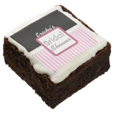 Stripes Theme  Sweets S02 Chocolate Brownie
