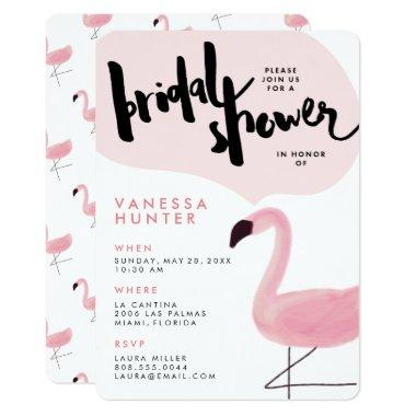 Stylish Pink Flamingo