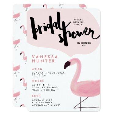 Stylish Pink Flamingo