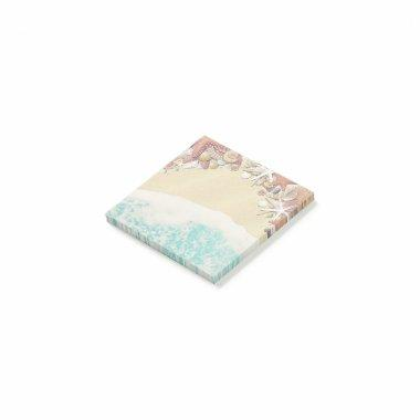 Summer Wedding Sandy Beach Starfish Sea Shells Post-it Notes