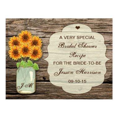 Sunflower Mason Jar  Recipe