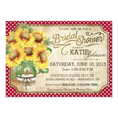 Sunflowers Gingham Country Picnic