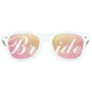 Sunset Bride Retro Sunglasses