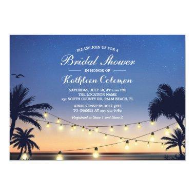 Sunset String Lights Palm Beach