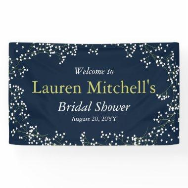 Sweet Baby's Breath Wedding or Party Banner