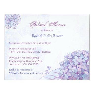 Sweet Lavender Hydrangea Floral