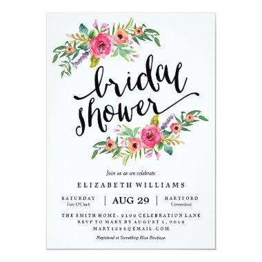 Sweetest Summer Bridal Shower Invitations