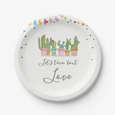 Taco Bout Love Fiesta Bridal Shower Paper Plates