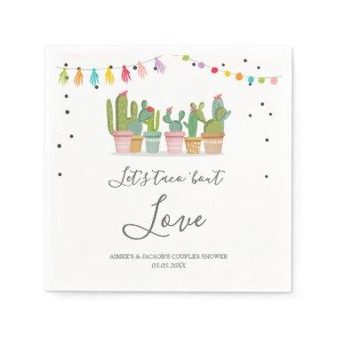 Taco Bout Love Fiesta Couples Shower Napkins