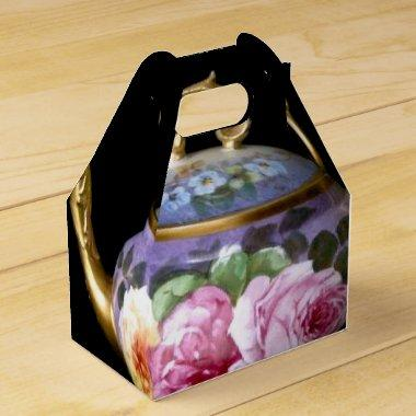 TEA PARTY FAVOR BOX (GABLE BOX STYLE)
