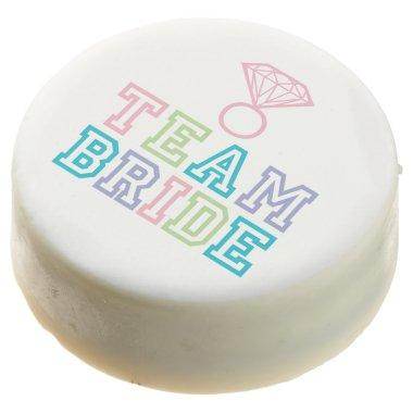 Team Bride Diamond Ring Chocolate Dipped Oreo