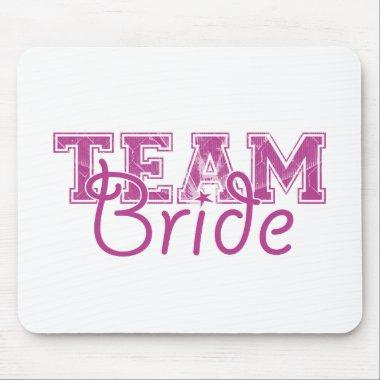 Team Bride - Perfectly Plum Mouse Pad