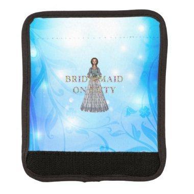TEE Bridesmaid On Duty Luggage Handle Wrap