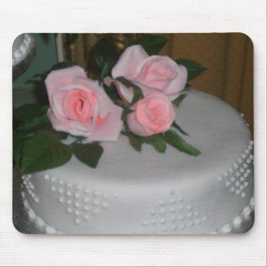 Thank you Wedding Cake Mouse Pad