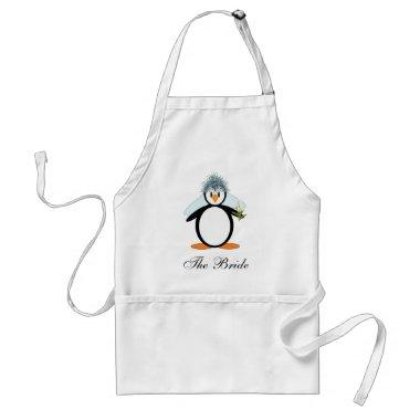 The Bride Adult Apron
