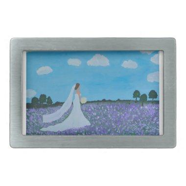The Bride Rectangular Belt Buckle