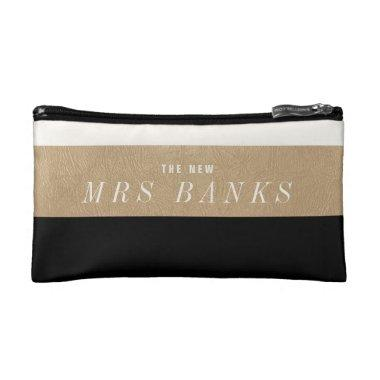 The New Mrs. Black Makeup Bag