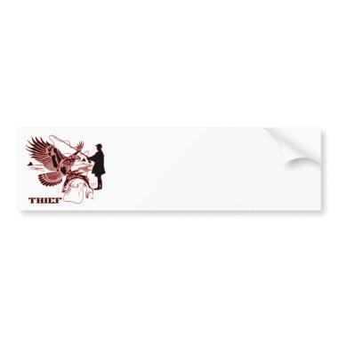 The-Thief-1-A Bumper Sticker