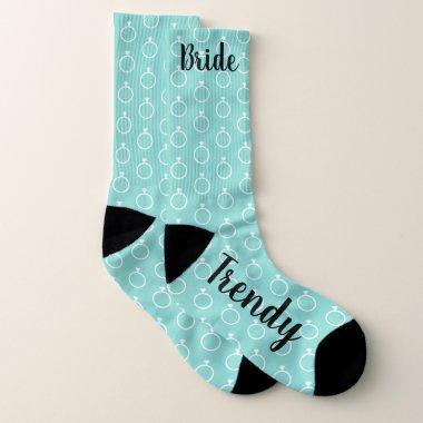The Trendy Bride Shower Bridal Party Socks