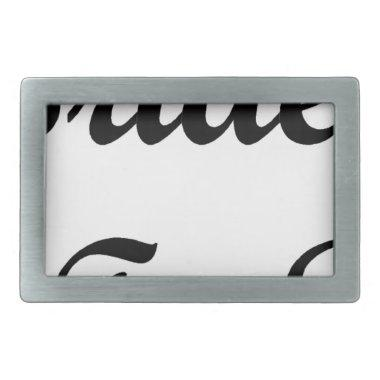 Tiara Bride To Be Rectangular Belt Buckle