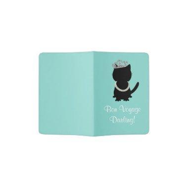 Tiara Party Tiffany Cat Passport Holder