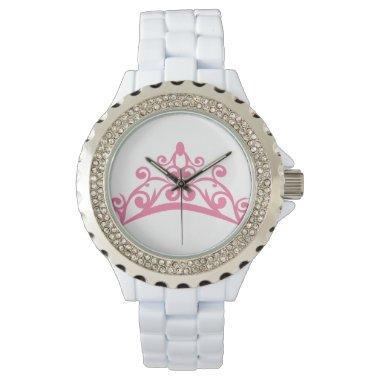 Tiara Rhinestone Watch