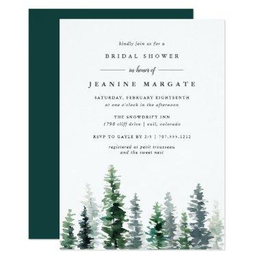 Timber Grove | Rustic Bridal Shower Invitations