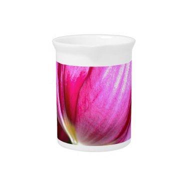 Tiptoe Through The Tulips Beverage Pitcher