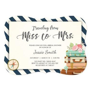 Travel  Miss to Mrs Navy