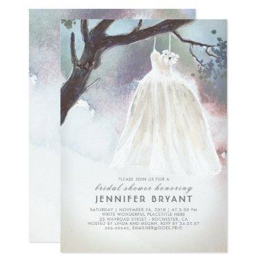 Tree  | Watercolor Wedding Dress