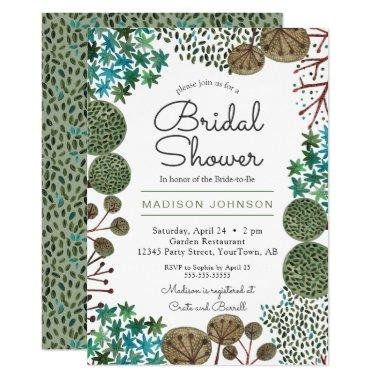 Trees Woodland Forest | Bridal Shower | Invitations