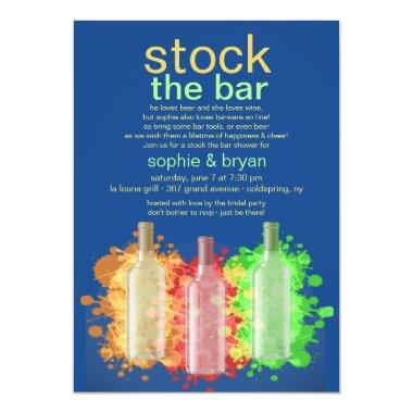Trendy Wine Bottles Stock The Bar