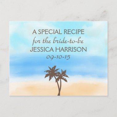 Tropical Beach Palm Tree  Recipe