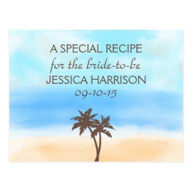 Tropical Beach Palm Tree  Recipe