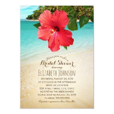 Tropical Hibiscus Beach Themed