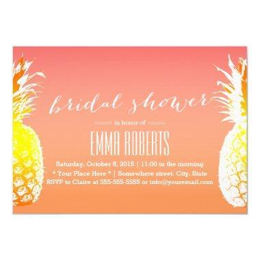 Tropical Pineapple Elegant