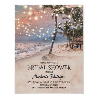 Tropical Vintage Beach String Lights