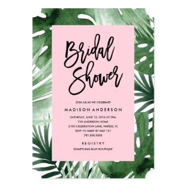 Tropics Bridal Shower Invitations