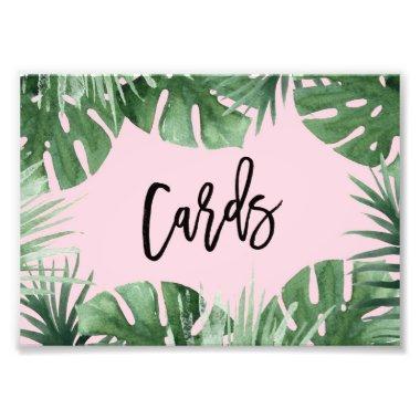 Tropics Invitations Print