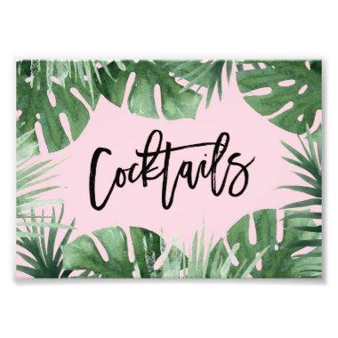 Tropics Cocktails Print