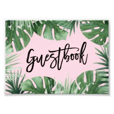 Tropics Guestbook Print