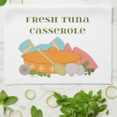 Tuna Casserole Cute Retro Kitchen Design Kitchen Towel
